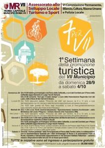 Programma della Settimana della Promozione Turistica